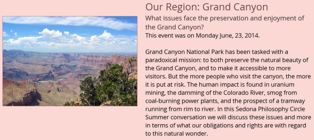 Our Region - The Grand Canyon copy